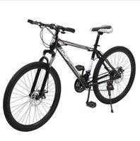 2022 conjuntos de jardim ao ar livre [Sobreviventes de acampamento] 24 polegadas de bicicleta de montanha olímpica de 21 polegadas preto e branco