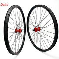 Велосипедные колеса Углерод MTB Disc 27.5er Бесплатные бескопытные колеса IM 45x30mm Асимметрия Надежда 4 110x15 148x12 CN424