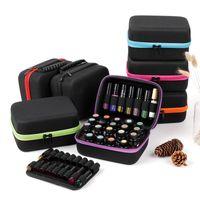 Storage Bags 19 Slots 15ML Essential Oil Case For DoTERRA 3ML 5ML 10ML Bottle Holder Organizer Perfume Bottles Collecting