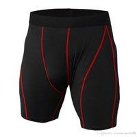 2020 camisa deportiva al por mayor hombres gimnasios corriendo pantalones cortos compresión fitness culturismo transpirable secado gimnasios cortos hombres casual joggers pantalones cortos