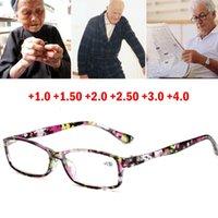 نظارات القراءة النظارات السترة النظافة الذكور الإناث البصر بعيدا جدا ضوء أسود مع قوة +100 إلى +400 النظارات الشمسية