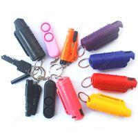 20 мл распылительный оружия самообороны для женщин-продуктов самообороны брелок открытый женский брелок
