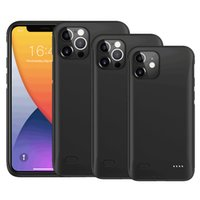 Premium Charger Case voor iPhone 12 11 x XS PRO MAX XR 6S 7 8 PLUS Draagbare telefoon Power Bank Dun Wireless Charge Case Externe batterij