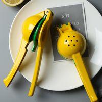 Küchenwerkzeuge Kunststoff Zitronen-Squeezer Hend Hend Juicer Double Bowl Lime Manual Orange Citrus Press GWF8170