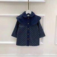 Малыш зимнее пальто малыш мальчик одежда набор оптом дизайнер девушки осень траншею одежды 90-160 см. Девушка бутик