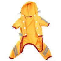 Dog Apparel Hing Quality Pet Puppy Cat Glisten Bar Hoody Casual Waterproof Rain Raincoat Jacket Clothes XL Product Drop