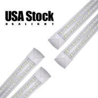 LED Entegre Tüp 5ft 6ft 8ft Soğutucular Işık 4ft V Şekilli 4 5 6 8 FT Floresan Tüpler Işıkları 36 W 72 W 100 W 144 W Soğutucu Kapı LED'leri Dondurucu Aydınlatma