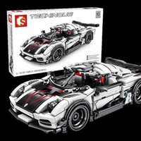625pcs SEMBO Technic Speed Car Bulding Blocks Sembo Speed Champion Bricks Creator Boy Kid Toys Birthday Gifts