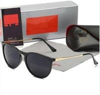 جودة عالية جديد راي الرجال النساء النظارات الشمسية خمر الطيار العلامة التجارية الشمس النظارات الفرقة uv400 حظر بن النظارات الشمسية مع صندوق وحالة 4171 2140 3025