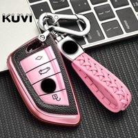 FOB-Autoabdeckung Key Case Anzug für BMW 2 3 5 7 Serie 6GT X1 X3 X5 X6 F45 F46 G20 G35 G32 G11 G12 F48 G01 5 F85 6 F86 Keychain