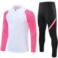 2021 Futbol Eşofman Kitleri Futbol Eğitim Takım Elbise Gerçek Madrid Tehlike Mbappe Survetement de Ayak Chandal Jogging Ceketler Sıcak Spor AAA222