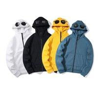 Осень зима TopStonee евро американская простая личность компании толстовки Trend сантехника одежды кофты куртка молнии шляпа очки капюшон