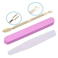Nail Art Kits Set Scissors Professional Suit Tool Stainless Steel Leather Case Apply To Trim Cutters For Manicure