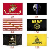 EE.UU. Flags EE. UU. Bandera del ejército Airforde Marine Corp Navy Besty Ross Bandera No pisotean las banderas delgadas XXX Línea bandera HWF5833