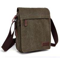 새로운 디자이너 캔버스 핸드백 고품질 메신저 가방 대용량 어깨 가방 캔버스 작은 사각형 학생 schoolbag