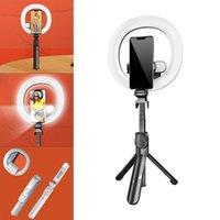 Selfie Monopods XT18S Stick Bluetooth Treppiede con anello da 7,3 pollici Fill Light Telefono per smartphone mobile dal vivo / video
