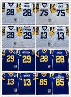 NCAA hombres vintage 40th jersey Eric Dickerson Marshall Faulk Warner Jones Jack Youngblood Kurt Jerseys cosido