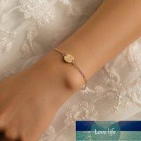 أزياء لون الذهب الأولي إلكتروني سوار للنساء قابل للتعديل سلسلة سحر اسم أساور مجوهرات الإناث هدية مخصص بالجملة
