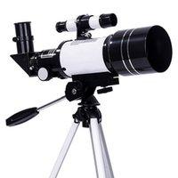 30070 Astronomical Telescope Binoculars Zoom Outdoor HD Night Vision 150X Refractive Deep Space Moon Astronomical Telescope 210319