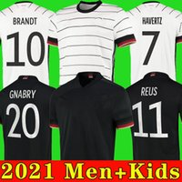 2021 2020 독일 축구 유니폼 20 21 Hummels Kroos Draxler Reus Muller Gotze 유럽 컵 축구 셔츠 홈 멀리 유니폼 남자 키트 키트
