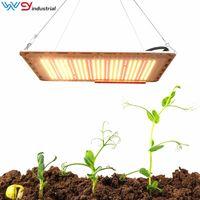 LED Grow Grow Light 120W Tente pleine spectre de la tente couverte de serres végétaux pour la végétale en aluminium de floraison DHL