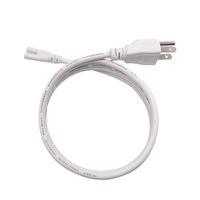 Aydınlatma Aksesuarları Anahtarı Bağlantı Tel Güç Kabloları Standart ABD Fişi ile T5 T8 Entegre LED Tüpler 3 Prong 100 cm 150 cm Kablo