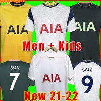 21 22 maillot de foot 2021 2022 maillots de football uniformes hommes + enfants enfant de la kit soccer jersey