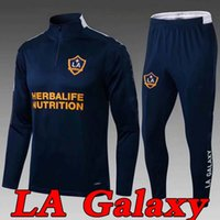 MLS 2021 Los Angeles La Galaxy Trainingsanzug Fussball Jersey 20 21 Chicharito Erwachsene Kinder Trainingsanzüge Trainingsanzug Surveetement Football Shirt