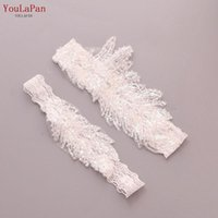 Wedding Sashes YouLaPan TH23 24 Leg Garter Belt Sexy Squin Bridal Thigh Ring For Women female bride