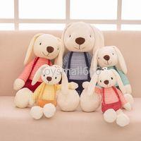 40cm lapin Pâques peluches de peluche de peluche bébé jouets mignon tissu doux peluche animaux de lapin décor pour enfants bébé apaiser jouets de haute qualité