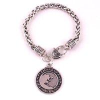 Charm Bilezikler Norse Viking Yin Yang Amulet Freki Geri Odin'in Kurtları Talisman Odin Kurt Cesur Bilezik
