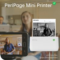 PeriPage A9 MAX Mini Thermal Printer 203dpi BT Wireless Po I...