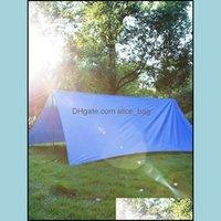 Tentes de randonnée de randonnée de randonnée d'extérieur et d'abris plage extérieur paillo-pare-ventculaire tolléculaire Colorf Sky 3 * 3 mètres de pique-nique de pique-nique