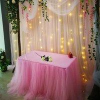 10m 낭만적 인 눈사기 크리스탈 투명 요소 실크 꽃 아치 파티 용품 웨딩 드레스 8ZSH015-2 장식 꽃 화환