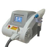 강력한 ND YAG 레이저 문신 제거 미용 기계 532nm 1064nm 탄소 껍질 살롱 용