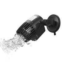 3 / 10 / 15W 흐름 펌프 서핑 울트라 조용한 220V 파동기 수족관 물고기 탱크 산소가있는 물 순환 공기 펌프 액세서리