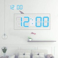 Multifunctional LED Clock Large Digital Wall 12H   24H Time Display With Alarm And Snooze Function Luminance Adjustabl Clocks