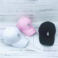 Güney Kore'nin çok yönlü marka parmak gelgit bükülmüş brim şapka beyzbol ördek dil bf bers