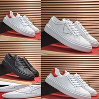 2021 Mans Spring and Automne Noir Chaussures plates blanches 01 Toile décontractée Sports de mode de luxe Brodé 38-45