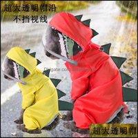Dog Supplies Home & Gardendog Apparel Dogs Clothe Pet Cat Four Feet Waterproof Raincoat Spring Summer Autumn Winter Dinosaur Turns Into Tedd