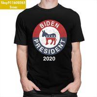 Vintage Joe Biden 2021 for President Shirt Men Short Sleeved Cotton Tee Crew Neck Election Slogan Tshirt Summer Democrat T-shirt