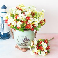 Decorative Flowers & Wreaths Artificial Daisy Flower Dried Small Natural Floral Plants Mini Real Bouquets Home Decoration Pography Props