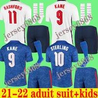 축구 유니폼 2021 홈 멀리 스털링 케인 Rashford Sancho 마운트 아브라함 델리 최고 품질의 키트 키트 남자 20 21 축구 셔츠