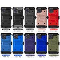 Armadura resistente caso hard caso para iphone 6 7 8 11 12 pro max x xr samsung cinto cinto clipe coldre kickstand tpu + pc À prova de choque caso anti-outono