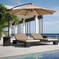 Shade Octagonal Dustproof Sunshade Umbrella C Canopy Cover Garden Courtyard Protective Anti-UV Awning No Stand