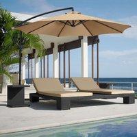 Shade Octagonal Dustproof Sunshade Umbrella C Canopy Cover Garden Courtyard Protective Anti-UV Awning No Stand