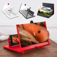 Mobiltelefonhalterung Halterung 12 Zoll 3D Mobile-Lupe-Lupe HD-Video-Ständer-Halterung mit Filmspiel Live-Vergrößerungsfalz