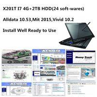 2021 High performance For l.enovo X201T i7 Thinkpad 4GB RAM Used laptop with Auto Repair soft-ware alldata mit..ll vivid 10.2 2tb hdd install well