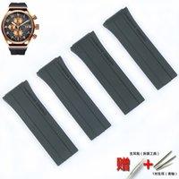 Mens Rubber Soft For Porsche Design P6780 Series Womens Silicone Sports Waterproof Strap Watch Accessories