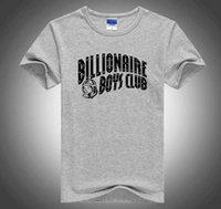 American TV series Billionaire Boys Club same fashion brand men's cotton round neck printed T-shirt summer newQVB105K4